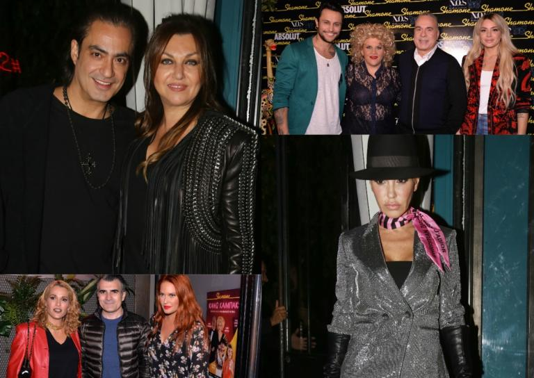 Λαμπερές παρουσίες στην πρεμιέρα της παράσταση «Κάνω Καμπάκ» στο Shamone! | Newsit.gr