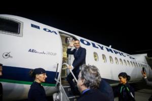 Με την πρώτη απευθείας πτήση Αθήνα – Σκόπια αναχώρησε ο αντιπρόεδρος της κυβέρνησης της ΠΓΔΜ [pics]