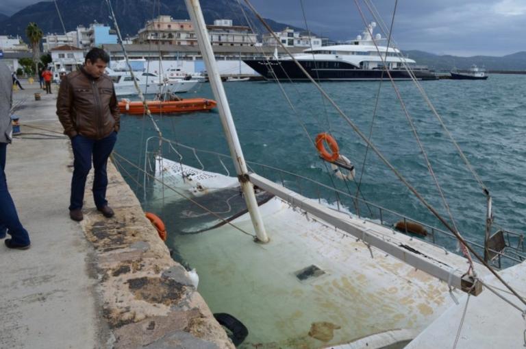 Κατασχεμένο ιστιοφόρο βούλιαξε στο λιμάνι της Καλαμάτας | Newsit.gr