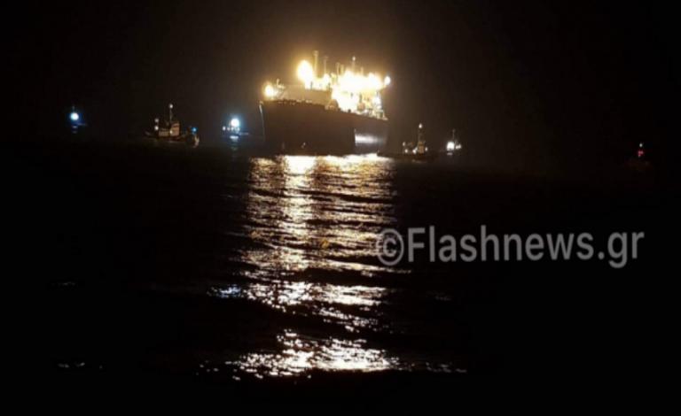 Προσάραξη τάνκερ ανοιχτά του Ηρακλείου! Μεταμεσονύχτια επιχείρηση – video, pics | Newsit.gr