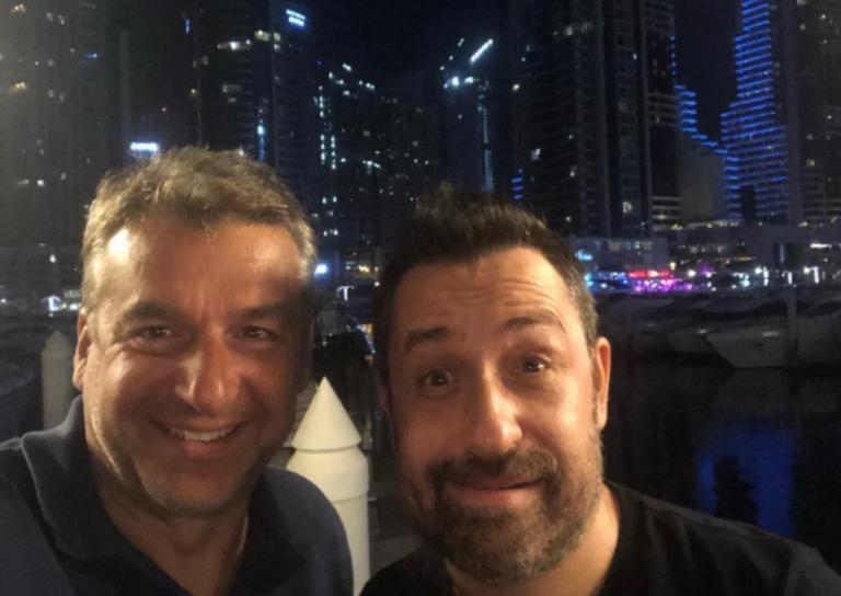 Γιώργος Λιάγκας – Θέμης Γεωργαντάς: Oι selfies τους από το Dubai καπνίζοντας ναργιλέ! | Newsit.gr