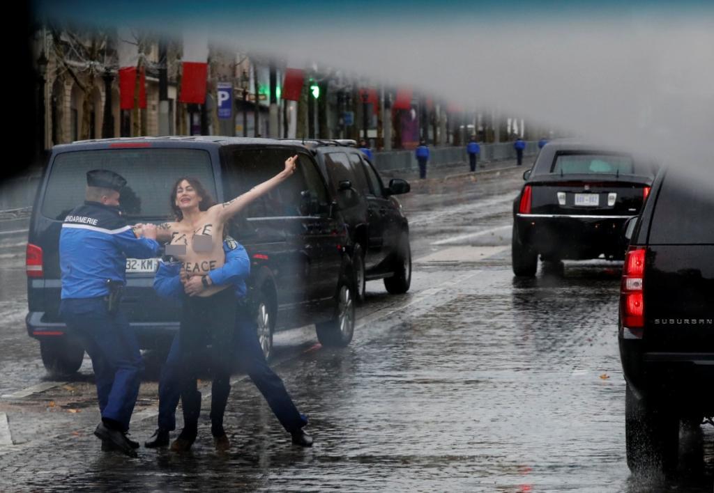 Τραμπ Femen
