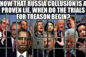 Ο Ντόναλντ Τραμπ έβαλε Κλίντον και Ομπάμα στην φυλακή!