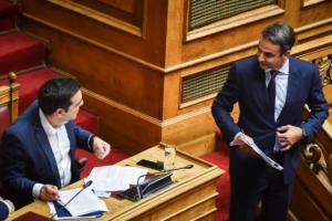 Δημοσκόπηση: Μειώνεται η διαφορά ανάμεσα σε ΝΔ και ΣΥΡΙΖΑ – Καταρρέουν τα ποσοστά του ΚΙΝΑΛ!