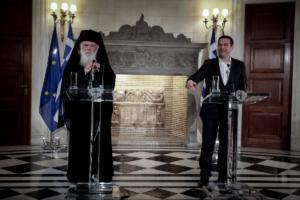 Τσίπρας: Δεν θα είναι πλέον δημόσιοι υπάλληλοι οι κληρικοί – Η ιστορική συμφωνία με τον Ιερώνυμο