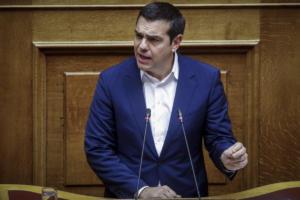 Η ομιλία Τσίπρα στη Βουλή επί του νομοσχεδίου για τις ασφαλιστικές εισφορές