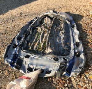 Έβρος: Οι διακινητές χρησιμοποίησαν αυτή τη βάρκα για να περάσουν στην Ελλάδα 10 μετανάστες [pics]