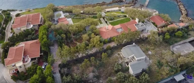 Η βίλα – φρούριο του δικτάτορα Παπαδόπουλου στο Λαγονήσι [video]