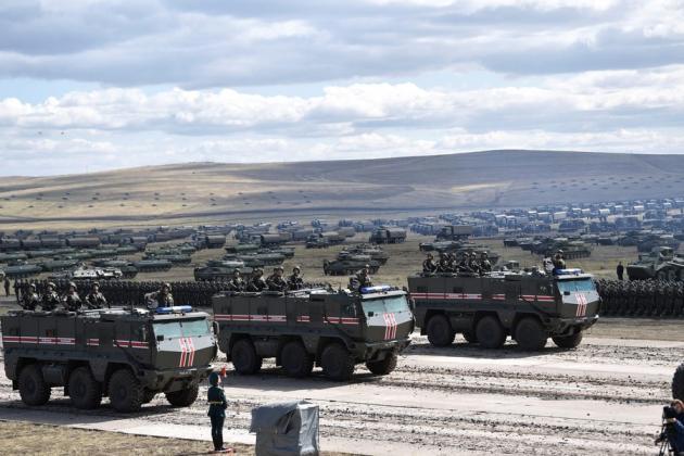 Έντονη κινητικότητα του Ρωσικού Στρατού στα Ρωσο-Ουκρανικά σύνορα