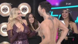 My Style Rocks: Ο ημίγυμνος χορευτής αναστάτωσε την Κωνσταντίνα Σπυροπούλου!
