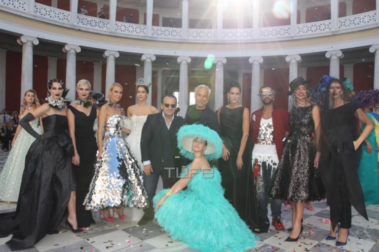 Λαμπερές παρουσίες σε επίδειξη μόδας στο Ζάππειο Μέγαρο! | Newsit.gr