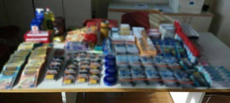 Κοζάνη: Δυο γυναίκες κατάφεραν να κλέψουν από σούπερ μάρκετ όλα όσα φαίνονται σε αυτή την εικόνα [pics] | Newsit.gr