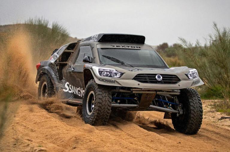 Ένα SsangYong Rexton για το Ράλι Dakar