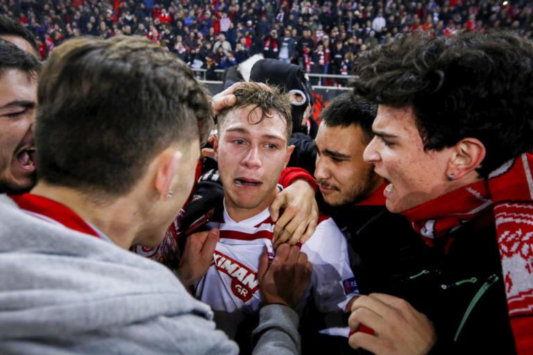Ολυμπιακός: Συγκλόνισε ο Κούτρης μετά το ματς! Ξέσπασε σε κλάματα για την ιστορική νίκη [pics] | Newsit.gr