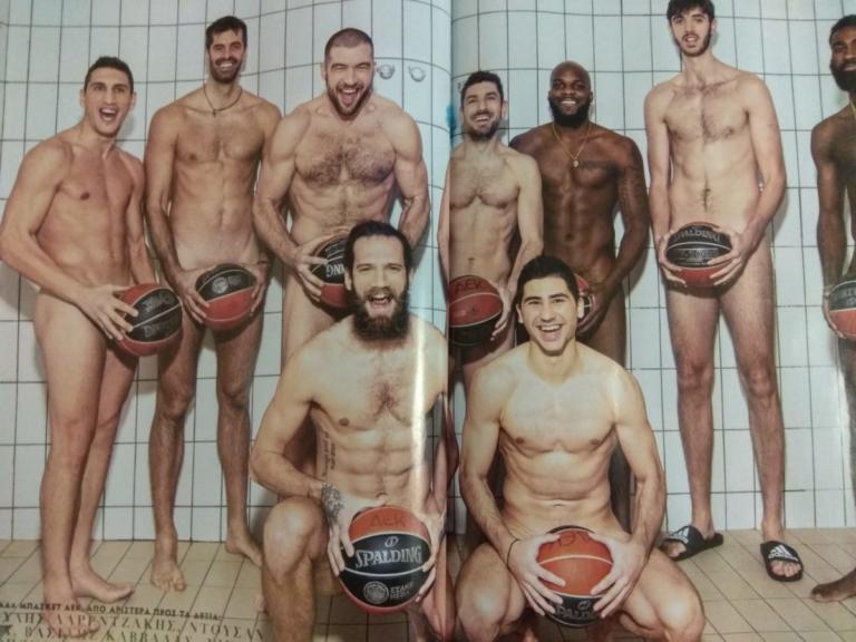 ΑΕΚ: Η γυμνή φωτογράφιση της μπασκετικής ομάδας! [pics] | Newsit.gr