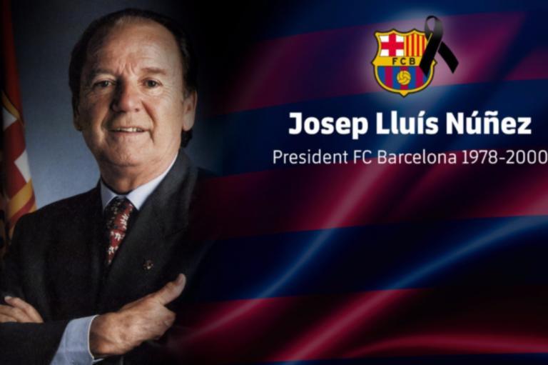 Θρήνος στην Μπαρτσελόνα – Πέθανε ο Τζοσέπ Λουίς Νούνιες