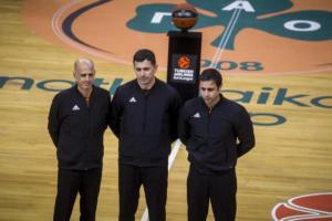 Euroleague: Οι διαιτητές στο Ρεάλ Μαδρίτης – Παναθηναϊκός!