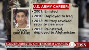 ΗΠΑ: 25 χρόνια φυλακή σε στρατιωτικό που είχε ορκιστεί πίστη στον ISIS
