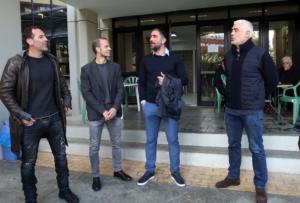 Ο… Μιχαλάκης υποδέχθηκε τους Έλληνες Legends! [video, pics]