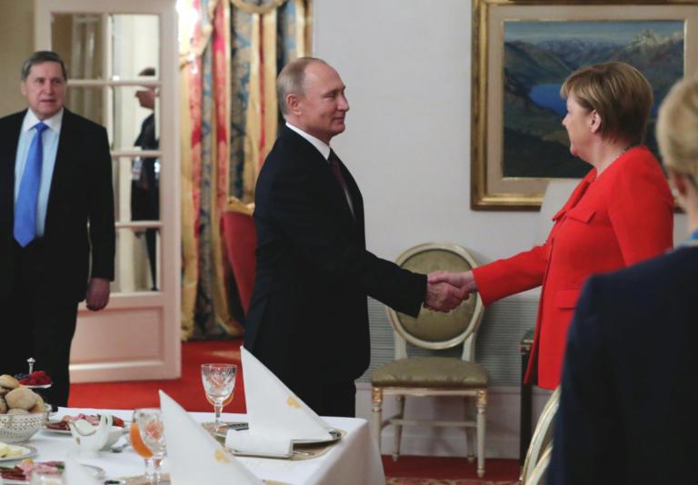 Συνάντηση Πούτιν – Μέρκελ για την κρίση στην Κριμαία   Newsit.gr