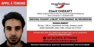 Στρασβούργο: Περιγραφή της Αστυνομίας για τον μακελάρη – Χαροπαλεύει δημοσιογράφος – Σβηστά τα φώτα του Άιφελ