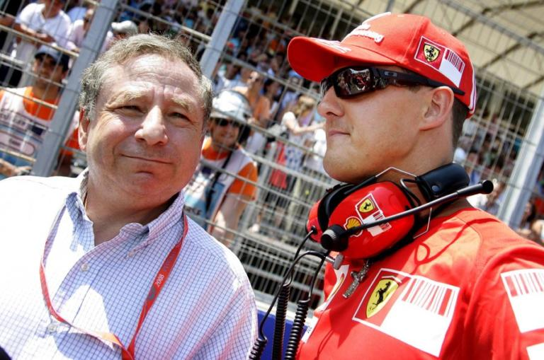 «Παρακολούθησα μαζί με τον Σουμάχερ το Grand Prix της Βραζιλίας»