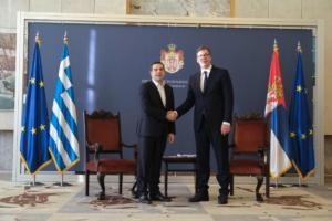 Τσίπρας – Βελιγράδι: Μετά την επικύρωση της Συμφωνίας των Πρεσπών, τριμερής συνεργασία Ελλάδας – ΠΓΔΜ – Σερβίας