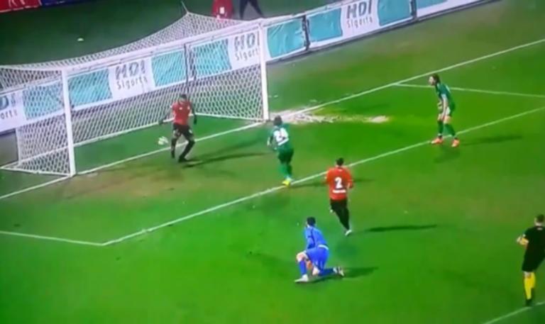 Έχασε το… άχαστο! Απίστευτη φάση σε αγώνα στην Τουρκία – video | Newsit.gr