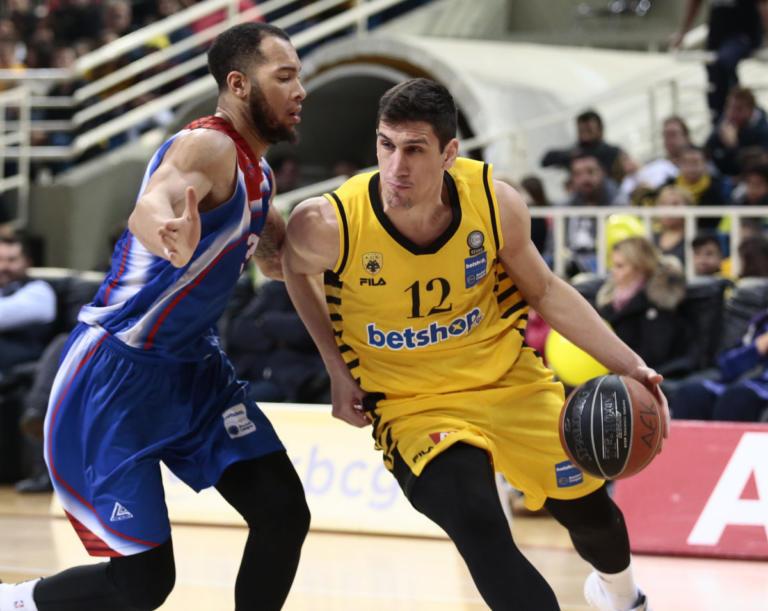 """""""Καθάρισε"""" τον Πανιώνιο στο φινάλε η ΑΕΚ! Τα αποτελέσματα της Basket League   Newsit.gr"""