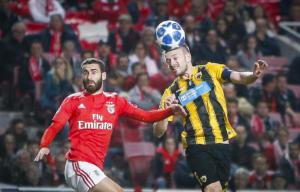 Champions League, Μπενφίκα – ΑΕΚ 1-0 ΤΕΛΙΚΟ: Ολοκληρώθηκε η «τραγωδία» για την Ένωση- videos