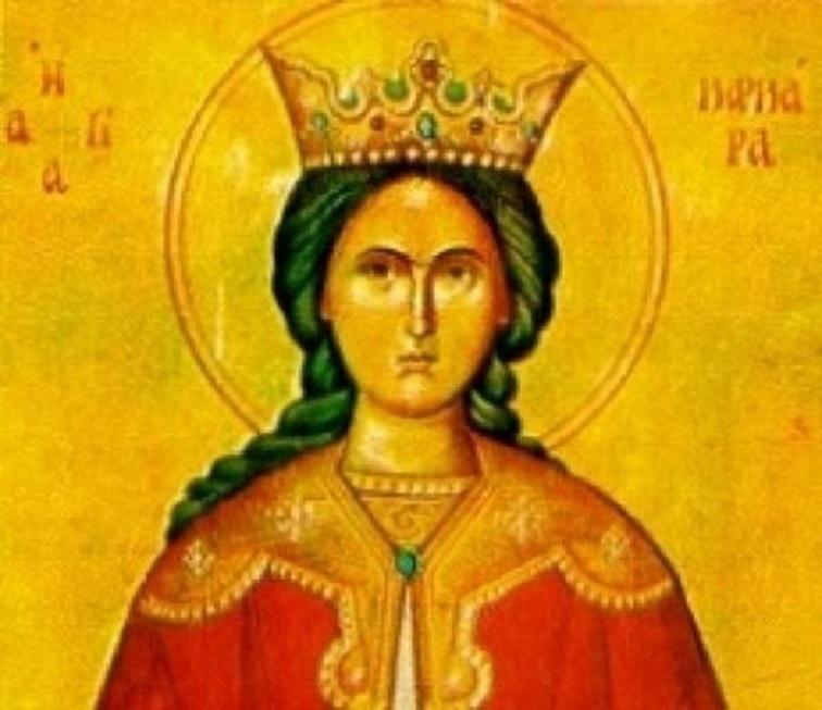 Αγία Βαρβάρα: Η προστάτιδα και θαυματουργή