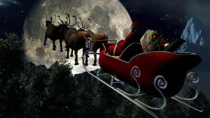 Άγιος Βασίλης: Συνεχίζει το ταξίδι του υπό…. το βλέμμα του αμερικανικού στρατού