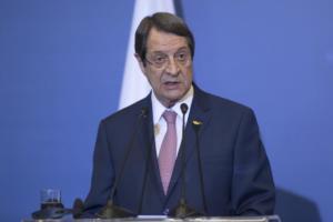 Αναστασιάδης: To 2019 θα είναι καθοριστικό για το μέλλον της Κύπρου