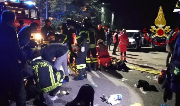 Ιταλία: Ποδοπατήθηκαν σε συναυλία! Έξι νεκροί – video, pics | Newsit.gr