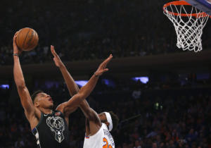 NBA: Η εμφάνιση του Γιάννη Αντετοκούνμπο κόντρα στους Γουόριορς – video