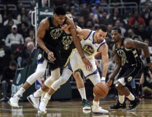 NBA: Οι Μπακς του Αντετοκούνμπο υποκλίθηκαν στους Γουόριορς – videο