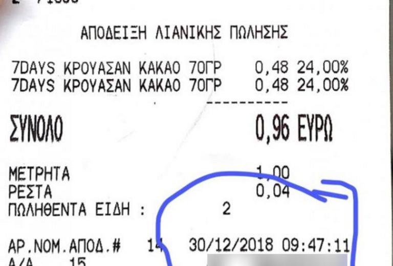 Πάτρα: Τους έκαψε αυτή η απόδειξη – Το πρόβλημα δεν ήταν οι τιμές των προϊόντων [pics] | Newsit.gr