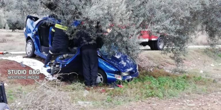 Δυστύχημα με οικογένεια στην Αργολίδα! Νεκρός ο πατέρας – Στο νοσοκομείο μάνα και παιδί!