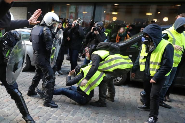 Κίτρινα γιλέκα: Τρέμουν πιθανά επεισόδια στο Βέλγιο! | Newsit.gr