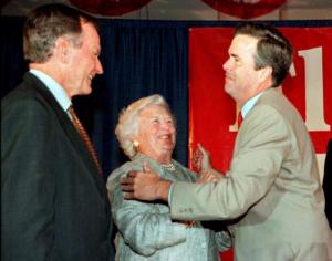 Η ζωή του Τζορτζ Μπους