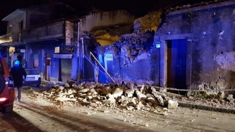 Σεισμός: Δέκα τραυματίες στην Ιταλία – Τρόμος στην Κατάνια τα ξημερώματα | Newsit.gr