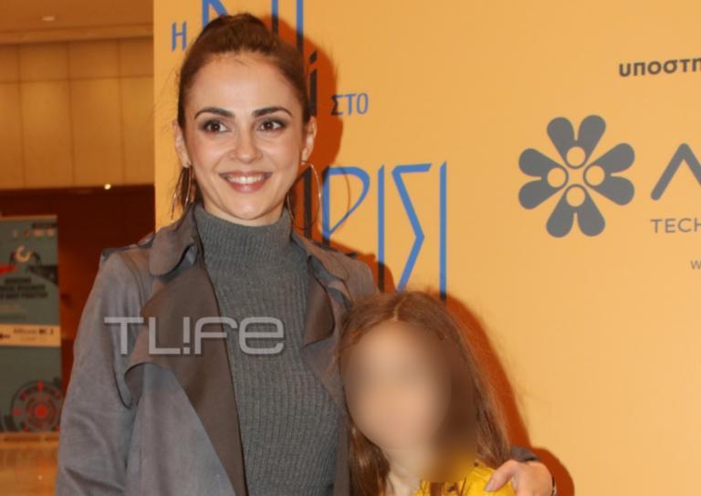Αγγελική Δαλιάνη:Με την κόρη της Λυδία στο Μέγαρο Μουσικής! [pics]