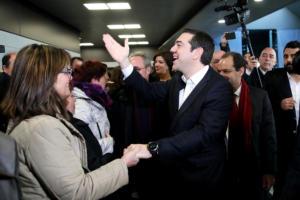 Θεσσαλονίκη: Η ατάκα του Αλέξη Τσίπρα για το πρωτάθλημα και τον ΠΑΟΚ – Τι έπιασαν οι κάμερες – video