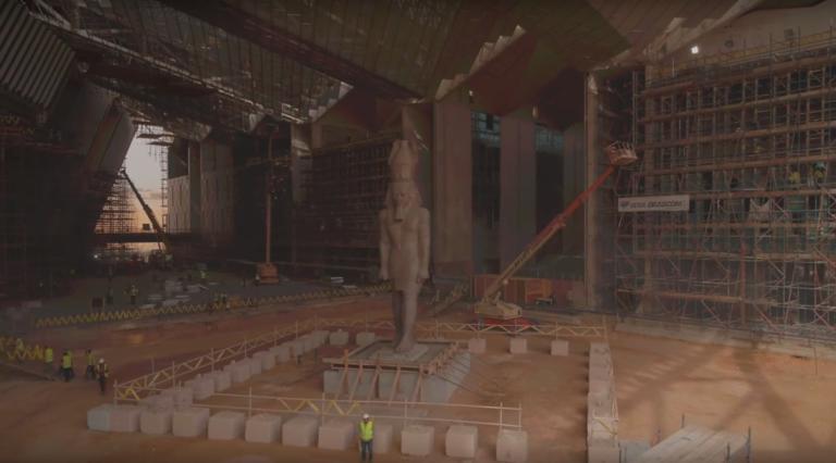 Στα άδυτα του νέου εκπληκτικού Μουσείου της Αιγύπτου | Newsit.gr
