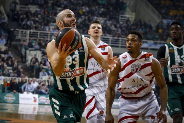 "Euroleague: Η κατάταξη μετά την ήττα του Παναθηναϊκού! Στην 11η θέση οι ""πράσινοι"" [pic] | Newsit.gr"