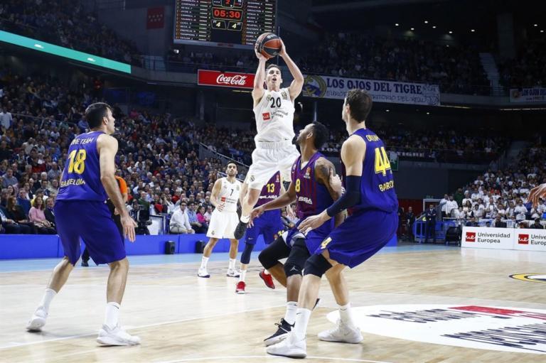 "Euroleague: Η Ρεάλ ντρόπιασε ξανά την Μπαρτσελόνα! ""Φωτιά"" στην κατάταξη   Newsit.gr"