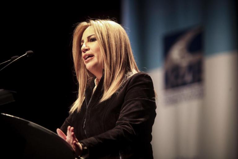 Γεννηματά: Η κυβέρνηση θεωρεί το κράτος φέουδο   Newsit.gr