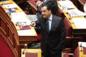 Κυβερνητικές πηγές: «Ξεπέρασε τα όρια της γελοιότητας ο Άδωνις Γεωργιάδης»