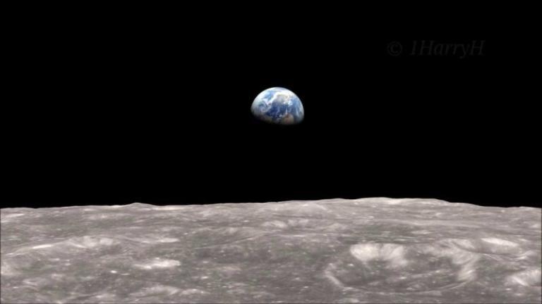 """Η """"αυγή της γης"""" έχει γενέθλια! Κλείνει 50 χρόνια η """"θρυλική"""" φωτογραφία   Newsit.gr"""