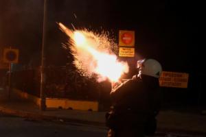 Αλέξανδρος Γρηγορόπουλος: Μολότοφ, χημικά, και φωτιές παντού